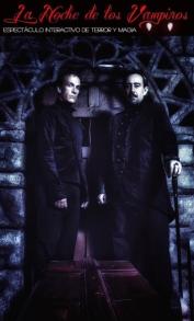 Cartel La noche de los vampiros